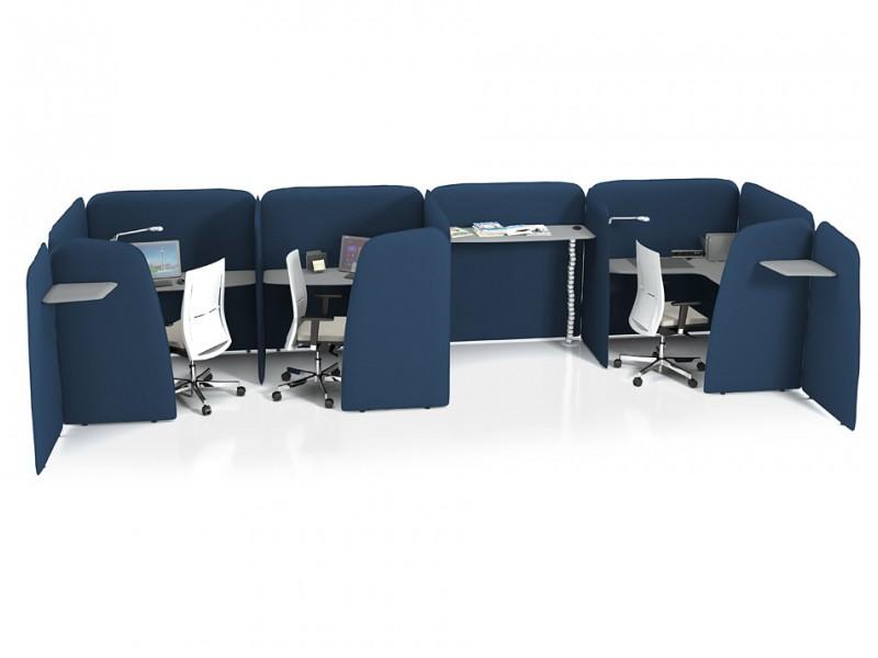 L1 Smart Office Larmschutz Arbeitsplatz Schreibtisch Mi