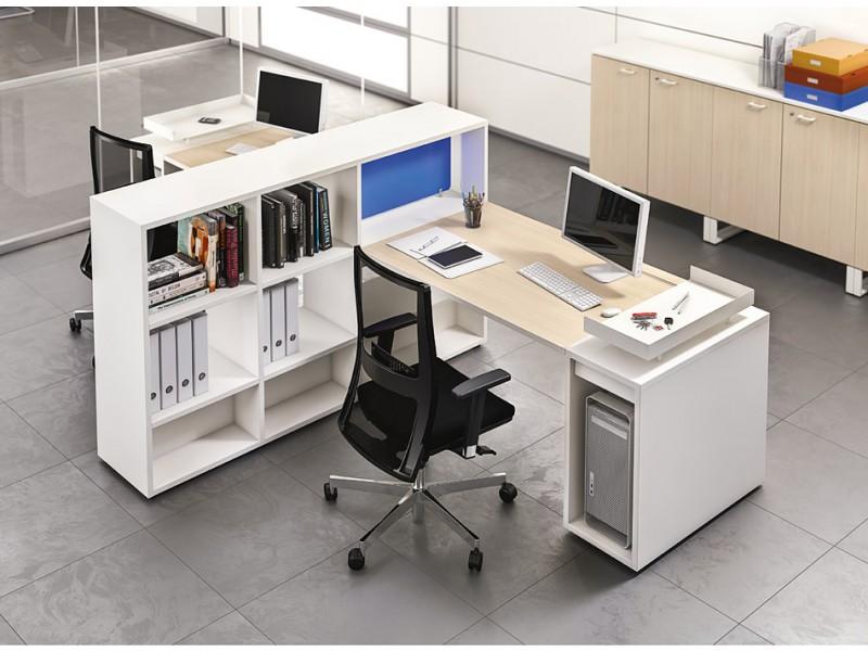 Schreibtisch Stauraum logic - modular und kompaktes schreibtisch - system, arbeitsplatz