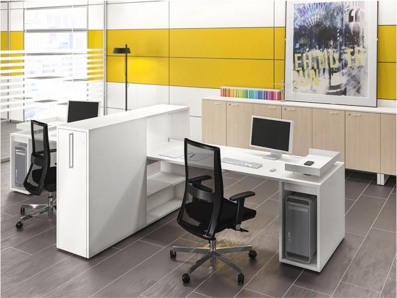 logic modular und kompaktes schreibtisch system. Black Bedroom Furniture Sets. Home Design Ideas