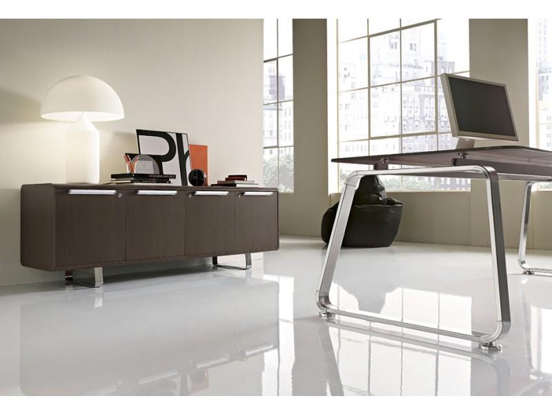 Retro Design Schreibtisch, Retro Chef Büro Möbel - Seventies